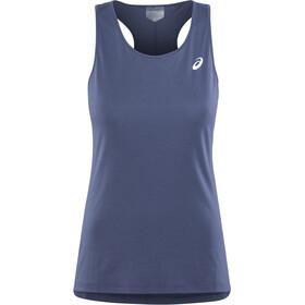 asics Silver Hardloopshirt zonder mouwen Dames, indigo blue